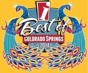 Lucky Dog Resorts voted Best Pet Daycare (Gold) and Best Groomer (Bronze) in Colorado Springs for 2014 by readers of The Independent